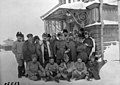 French Military Mission at Archangel, Colonel Dunop at center, Russian Intevention 1918-1920 (5558) (18342003755).jpg
