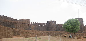 Kumta - Mirjan Fort, originally built in the 15th century