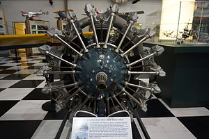 Pratt & Whitney R-985 Wasp Junior - Image: Frontiers of Flight Museum December 2015 028 (Pratt & Whitney R 985 Wasp Junior radial engine)