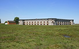 Fronts one and two of fort delaware on pea patch island.jpg