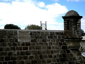Osorno, Chile - Fort Reina Luisa: it was designed and built by the Captain of the Royal Engineers Manuel Olaguer Feliú.