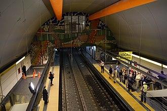 Las Heras (Buenos Aires Underground) - Image: Futura Estacion Las Heras Interior (8)