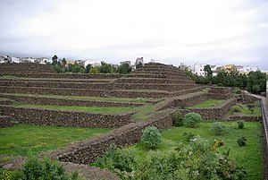Pyramids of Güímar - Image: Güímar BW 3