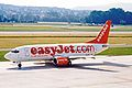 G-EZYL B737-33V easyJet ZRH 17JUN03 (8517227163).jpg