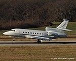 G-RMMA Dassault Falcon 900EX F900 - LCY (15636188963).jpg