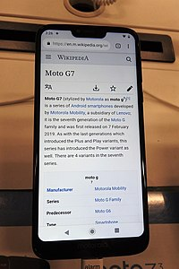 87afd5e03ed G7 power at Best Buy jeh.jpg. Manufacturer · Motorola Mobility