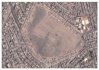 San Martín de Porres District - Aerial View of Huaca Garagay