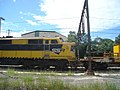 GM10 Series Loco as End Unit on Maintenance Train just north of Gosford - panoramio.jpg