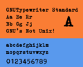 GNUTypewriter Standard.png