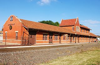 Gainesville station (Texas) rail station in Gainesville, Texas