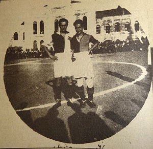 1923–24 Galatasaray S.K. season - Nihat Bekdik and Slavia Prague Captain