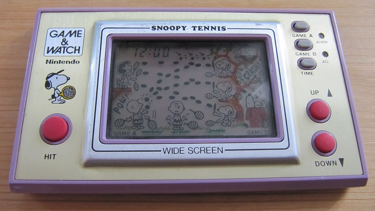 Game & Watch Snoopy Tenis
