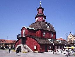 Lidköpings rådhus på den Nye bys torv.