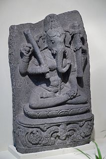 elephant-headed Hindu goddess