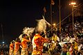 Ganga Aarti in evening at Dashashwamedh ghat, Varanasi 01.jpg