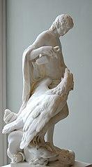 Ganymède versant le nectar à Jupiter changé en aigle