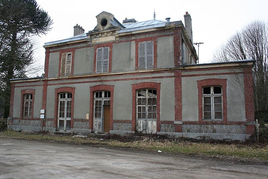 Gare de Mortain - Le Neufbourg, coté quai