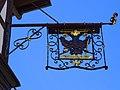 Gasthaus Schwarzer Adler (Steinach), Wirtshausausleger.jpg