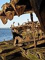Gayundah shipwreck,woody point,22-08-2013 (14) (9564319163).jpg