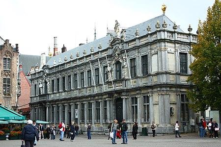 Gebouw, voormalige Proosdij - Burg 1, 2 - Brugge - 29233.JPG