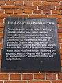 Gedenktafel ehemaliges Polizeigefängnis Hütten (Hamburg-Neustadt).jpg