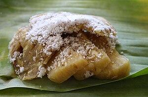 Bahasa Indonesia: Gemblong adalah makanan khas...