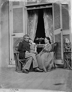 Edward Ord - Edward O. C. Ord and his family.