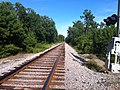 General Howe Rd Hwy 11 July 2014 Railroad Crossing - panoramio.jpg