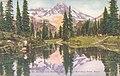 General Views WA - Mt. Rainier and Mirror Lake, Rainier National Park (NBY 431829).jpg