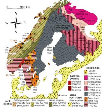 gull kart norge Grunnfjell – Wikipedia gull kart norge