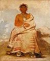 George Catlin - L'har-e-tar-rúshe, Ill-natured Man, a Skidi (Wolf) Pawnee - 1985.66.111 - Smithsonian American Art Museum.jpg