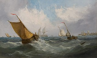 Fishing Boats off Ramsgate