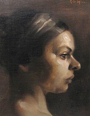 George Demetrescu Mirea - Image: George Demetrescu Mirea Profil de femeie