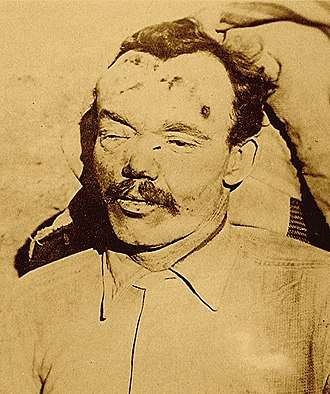 George Curry (Wild Bunch) - Flat Nose Curry after his assassination by the sheriff Jesse Tyler