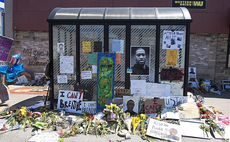 File:George Floyd Memorial at Chicago Avenue & 38th Street (49953285551).jpg