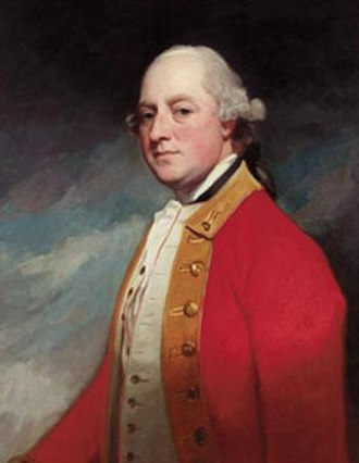 Lord George Lennox - Lord George Lennox, by George Romney