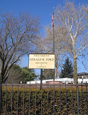 Gerald R. Ford Birthsite and Gardens - Site as of 2006.