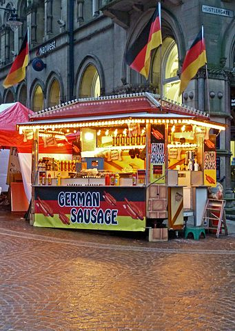 File:German Sausage- an Ideal Gift for Valentine's Day