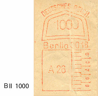Germany stamp type A1 BII 1000.jpg