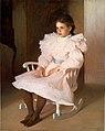 Gertrude oil 1899 Frank Weston Benson.jpg