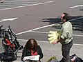 Getting ready to give 'em a big hand - geograph.org.uk - 492192.jpg