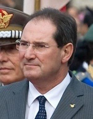 Giancarlo Galan - Image: Giancarlo Galan