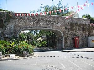 Gibraltar sovereignty referendum, 1967 - Image: Gibraltar Referendum Gates (Southport Gates) 03