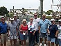 Ginny meets with local shrimpers and fisherman at Hernando Beach.jpg