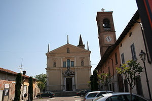 Antegnate - Church of San Michele Arcangelo