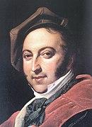 Gioachino Rossini in 1820 (Source: Wikimedia)