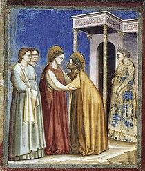 Giotto di Bondone - No. 16 Scenes from the Life of the Virgin - 7. Visitation - WGA09192.jpg