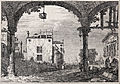 Giovanni Antonio Canal, il Canaletto - The portico with a lantern - from the series 'Vedute' (Views) - Google Art Project.jpg