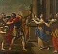 Giovanni Francesco Romanelli - Jephta erblickt seine Tochter - GG 1562 - Kunsthistorisches Museum.jpg
