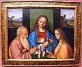 Giovanni agostino da lodi, madonna col bambino tra i ss. giuseppe e lucia, 1500-05 ca.JPG